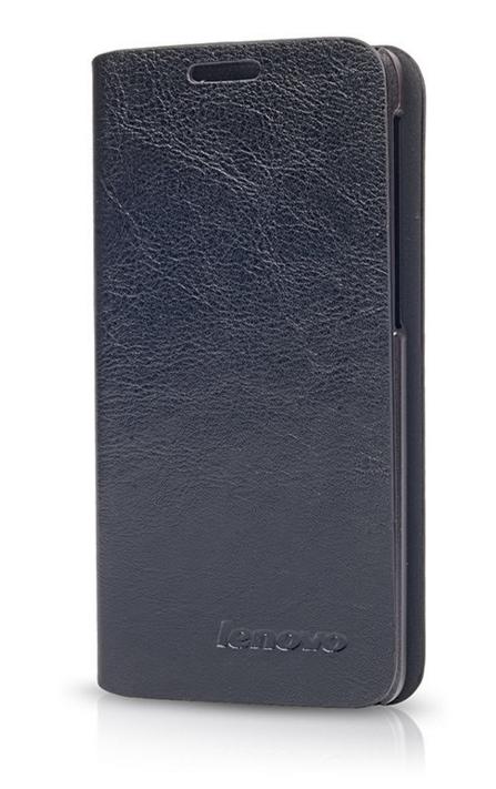 Чехол книжка для Lenovo S650 Черный