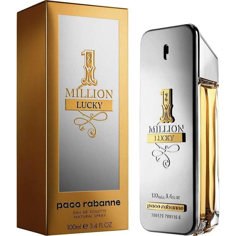 Мужская туалетная вода Paco Rabanne 1 Million Lucky