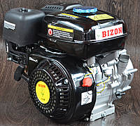 Двигатель бензиновый Bizon с понижающим редуктором и центробежным сцеплением 170F 17, КОД: 1538877