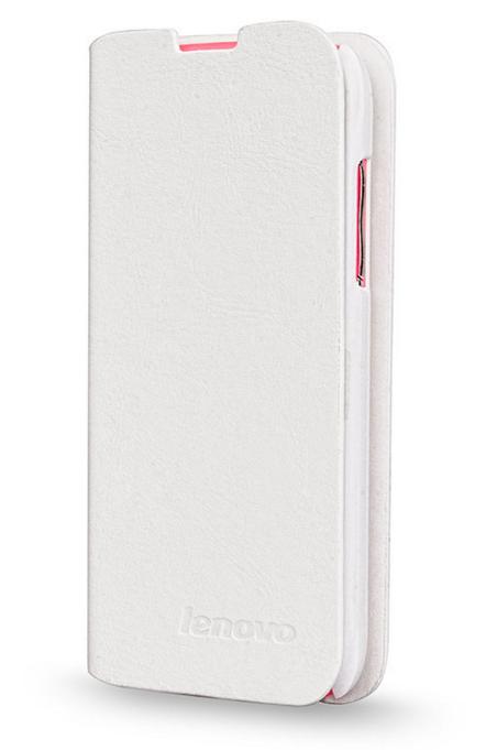 Чехол книжка для Lenovo S650 Белый