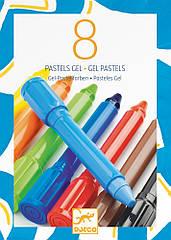 Гелевые карандаши Djeco классические оттенки DJ08812, КОД: 2444143