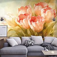"""Фотообои панно с цветами """"Букет тюльпанов"""""""