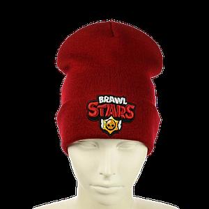 """Детская шапка """"Brawl Stars"""" Красная"""