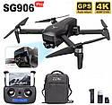 Квадрокоптер SG906 PRO + Кейс GPS 2-x осевая стабилизация  Wi-Fi FPV 4K Камера  дистанция 1500м 26 минут, фото 2