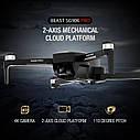 Квадрокоптер SG906 PRO + Кейс GPS 2-x осевая стабилизация  Wi-Fi FPV 4K Камера  дистанция 1500м 26 минут, фото 3