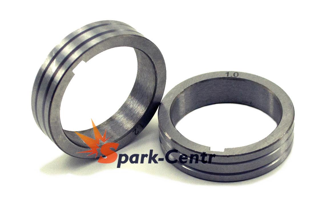 Подающий ролик 40х32х10 (V-образный) для стальной проволоки 1.2/1.6 мм