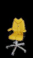 Детское эргономичное кресло KULIK SYSTEM FLY Желтое 1302, КОД: 1335537