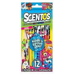 Набор ароматных карандашей Scentos Фантазия 40515, КОД: 2443759