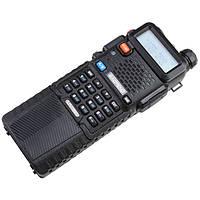 Рация Baofeng UV-5R Black + Усиленный аккумулятор BL-5L 3800 мАч Black, КОД: 1310537