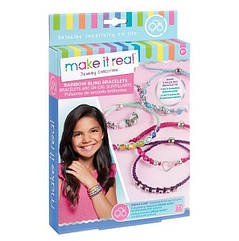 Набор Make it Real для создания шарм браслетов Яркая радуга MR1206, КОД: 2444839