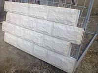 """Фасадные термопанели """"Колотый камень серый"""""""