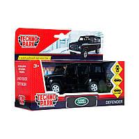 Автомодель Технопарк Land Rover Defender Черный DEFENDER-BK, КОД: 2431843