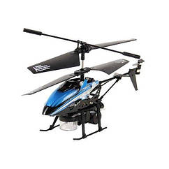 Вертолет на инфракрасном управлении WL Toys V757 синий WL-V757b, КОД: 2432165