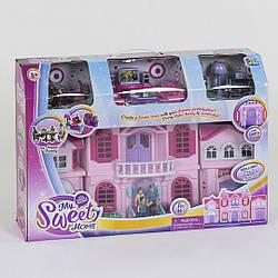 Домик кукольный 16427 с мебелью и фигурками