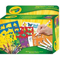 Набор для творчества с трафаретами Crayola Алфавит 10527, КОД: 2444092