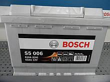 Автомобильный, аккумулятор, BOSCH 0092S50060 S5 63Ah+-,АКБ