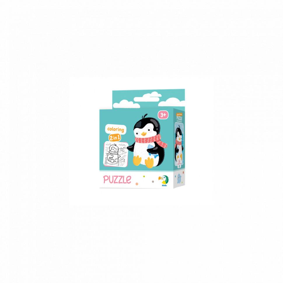 Пазл DoDo 2в1 Пингвин 300122