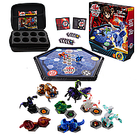 Бакуган набор Bakugan Battle 8 шт. + арена + кейс для бакуганов Гарганоид