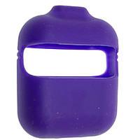 Чехол силиконовый Aare с ремешками для наушников AirPods AirPods 2 Ультрафиолетовый 00007696, КОД: 1536361