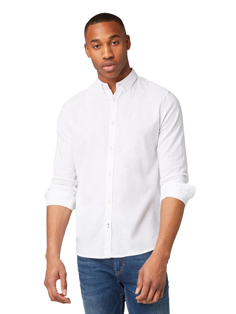 Рубашка Tom Tailor 1008935_20000 L Белый