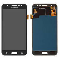 Дисплей для Samsung J500 Galaxy J5 TFT с тачскрином, чёрный