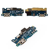 Плата зарядки для Meizu M2   M2 Mini с разъемом зарядки и компонентами (Original), фото 1