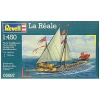 Сборная модель Revell Галера La Reale 1:450 (5897)