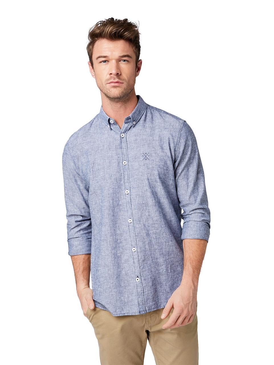 Рубашка Tom Tailor 1008935_11856 S Серый