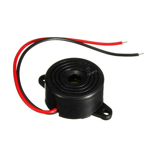 Динамик сирена зуммер buzzer сигнализация 3-24В 95дБ МИНИ 2000-00061