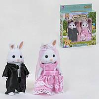 """Игровой набор персонажей для девочек """"Счастливая семья"""" 012-05 С (2 шт)"""