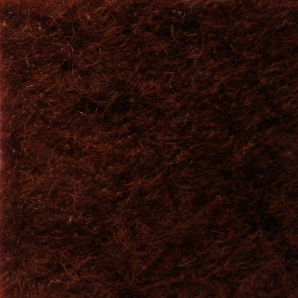 Фетр натуральный 1.3 мм, 20x30 см, НАСЫЩЕННЫЙ КОРИЧНЕВЫЙ, Испания