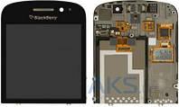 Дисплей (экран) для телефона Blackberry Q10 + Touchscreen with frame Original Black