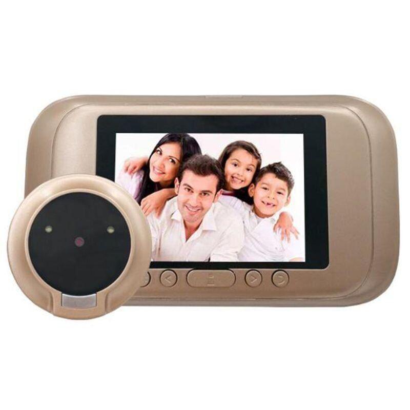 """Видеоглазок дверной цифровой для квартиры Kivos SG35 с 3.5"""" экраном, и фото/видео записью"""