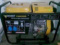 Дизельный генератор FORTE FGD 6500 E на 4,8 кВт. 220 V