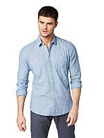Рубашка Tom Tailor 1009168 XXL Голубой