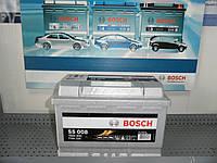 Автомобильный, аккумулятор, BOSCH 0092S50080 77Ah-+, 12V Bosch S50080 Silver, 278х175х190, 780А,АКБ., фото 1