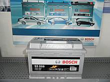Автомобільний акумулятор BOSCH 0092S50080 77Ah-+, 12V Bosch S50080 Silver, 278х175х190, 780А,АКБ.