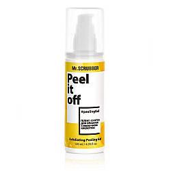 Пилинг - скатка для лица с молочной кислотой Mr. Scrubber peel it off Exfoliating Peeling Gel 120 мл