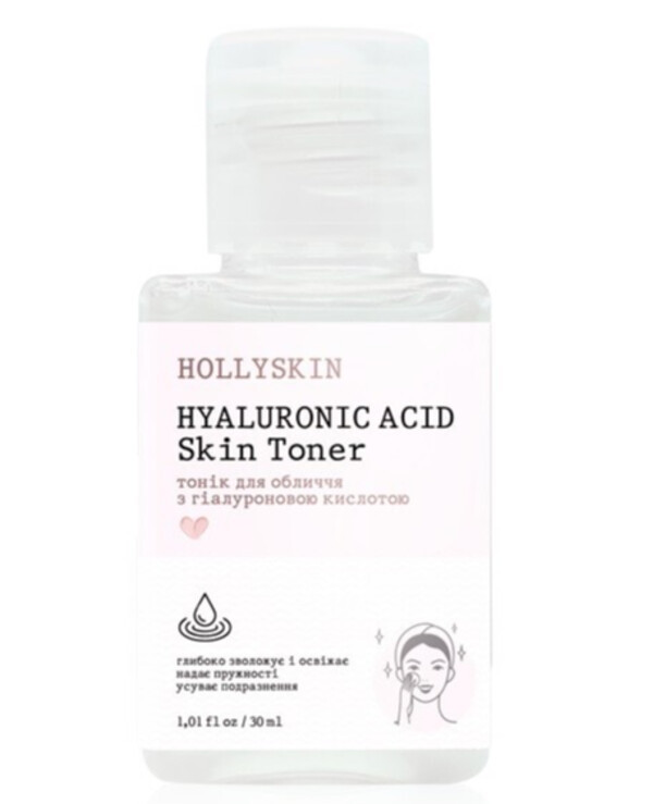 Тоник для лица Hollyskin Hyaluronic Acid Skin Toner 30 мл