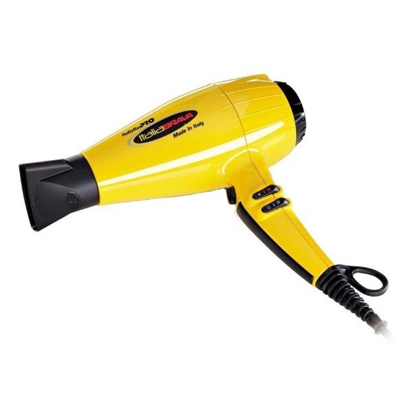 Фен для волосся BaByliss Italia Brava Original жовтий 2400W
