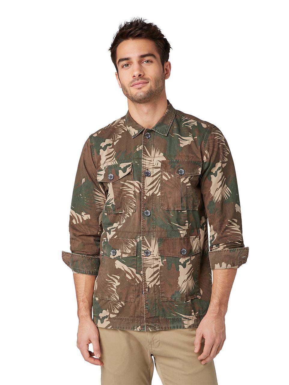 Рубашка Tom Tailor 1009281 L Коричневый