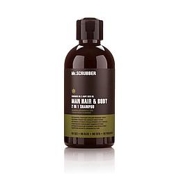 Мужской шампунь для волос и тела Mr. Scrubber Man Hair & Body 2 in 1 250 мл