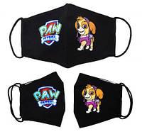 """Многоразовая 4-х слойная защитная маска """"Щенячий патруль, Скай"""" размер 3, 7-14 лет, маски защитные,маски,маски"""