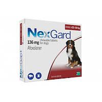 Таблетки Boehringer Ingelheim NexGard от блох и клещей для собак XL, 25-50 кг, 1 таблетка
