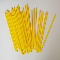 Палочки для кейк-попсов (желтые), 50шт.