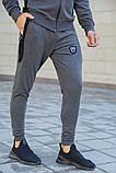 Спорт костюм муж. 154R100-01 цвет Серый, фото 6
