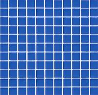Синяя Китайская мозаика прозрачное стекло B 021