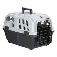 Переноска MPS Skudo 1 для кішок і собак дрібних порід, сіра, 48×31.5 x 31 см