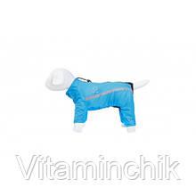 Дождевик Теремок M34 для собак, синий