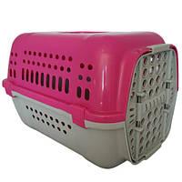 Переноска Animall P 990 для кошек и собак, розовая, 49×35×32.5 см